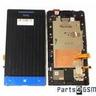 HTC Windows Phone 8S Interne Beeldscherm (LCD)+ Touchscreen + Frame Blauw 80H01413-01 [EOL]