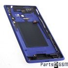 HTC Windows Phone 8X Batterijdeksel Blauw 37H02317-01M