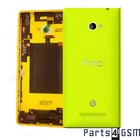 HTC Achterbehuizing Windows Phone 8X, Geel, 74H02316-05M