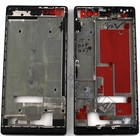 Huawei Front Cover Frame Ascend P7, Zwart [EOL]