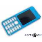Nokia 206 Dual Sim Frontcover Blauw 02501H3