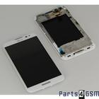 LG Optimus G Pro E985 Interne Beeldscherm (LCD)+ Touchscreen + Frame Wit ACQ86379202 [EOL]