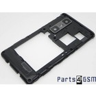 LG Optimus 3D Max P720 Mid Cover Black ACQ86009301