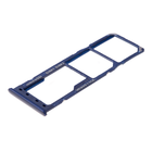 Samsung A105F/DS Galaxy A10 Sim + Speicherkarten Halter, Blau, GH98-44169B