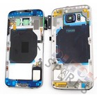 Samsung Mittel Gehäuse G920F Galaxy S6, Schwarz, GH96-08583A;GH96-08561A