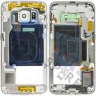 Samsung Middenbehuizing G925F Galaxy S6 Edge, wit, GH96-08376B [EOL]