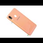 Samsung A405F/DS Galaxy A40 Accudeksel, Coral/Oranje, GH82-19406D