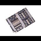 Samsung A405F/DS Galaxy A40 MicroSD kaartlezer connector, 3709-001936