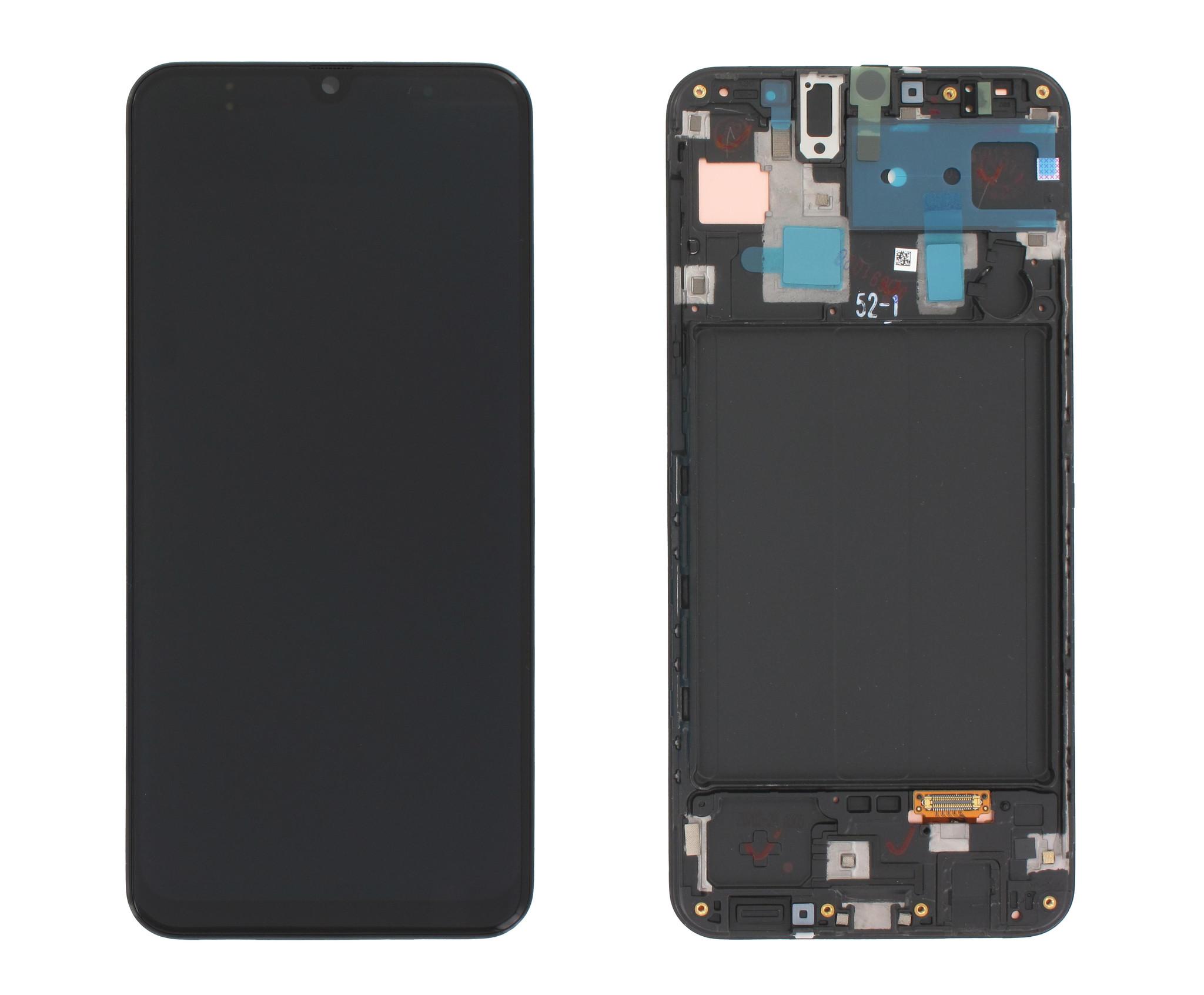 Samsung A305F/DS Galaxy A30 Display, Black, GH82-19202A;GH82-19725A
