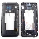 HTC Mittel Gehäuse One Max T6, Schwarz
