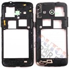 Samsung Middenbehuizing G386F Galaxy Core 4G, Zwart, GH98-30926B [EOL]