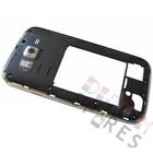 Samsung Mittel Gehäuse I9060 Galaxy Grand Neo, Schwarz, GH98-30372B