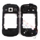 Samsung Mittel Gehäuse S7710 Galaxy Xcover 2, Schwarz