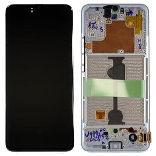 Samsung A908F/DS Galaxy A90 5G Display, Weiß, GH82-21092B