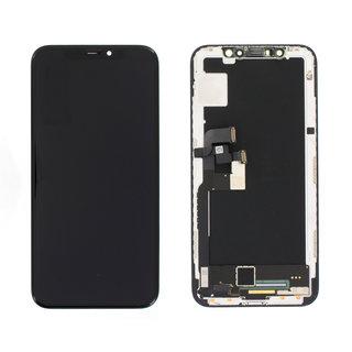 Display, OEM Pulled, Zwart, Geschikt Voor Apple iPhone X