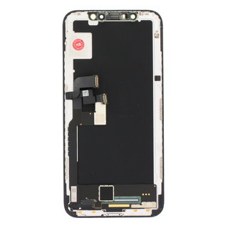 Display, OEM Pulled, Black, Compatible With The Apple iPhone X