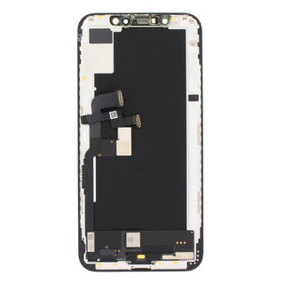 Display, OEM Pulled, Black, Compatible With The Apple iPhone XS
