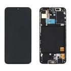 Samsung A405F/DS Galaxy A40 Display, Black, GH82-19672A;GH82-19674A