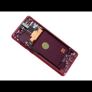 Samsung N770F/DS Galaxy Note 10 Lite Display, Aura Red/Rot, GH82-22055C