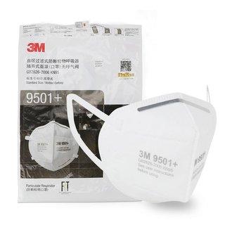 3M 9501+ KN95 3-lagige Gesichtsmaske FFP2 - Ohrbügel - 50 Pack