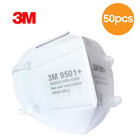 3M 9501+ KN95 FFP2 3-laags Mondmasker - Oorelastiek - 50 Pack