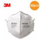 3M 9502+ KN95 FFP2 3-laags Mondmasker - Hoofdband - 50 Pack