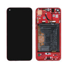 Huawei View 20 (PCT-L29) Display, Phantom Red/Rot, Incl. Battery HB436486ECW, 02352JKR