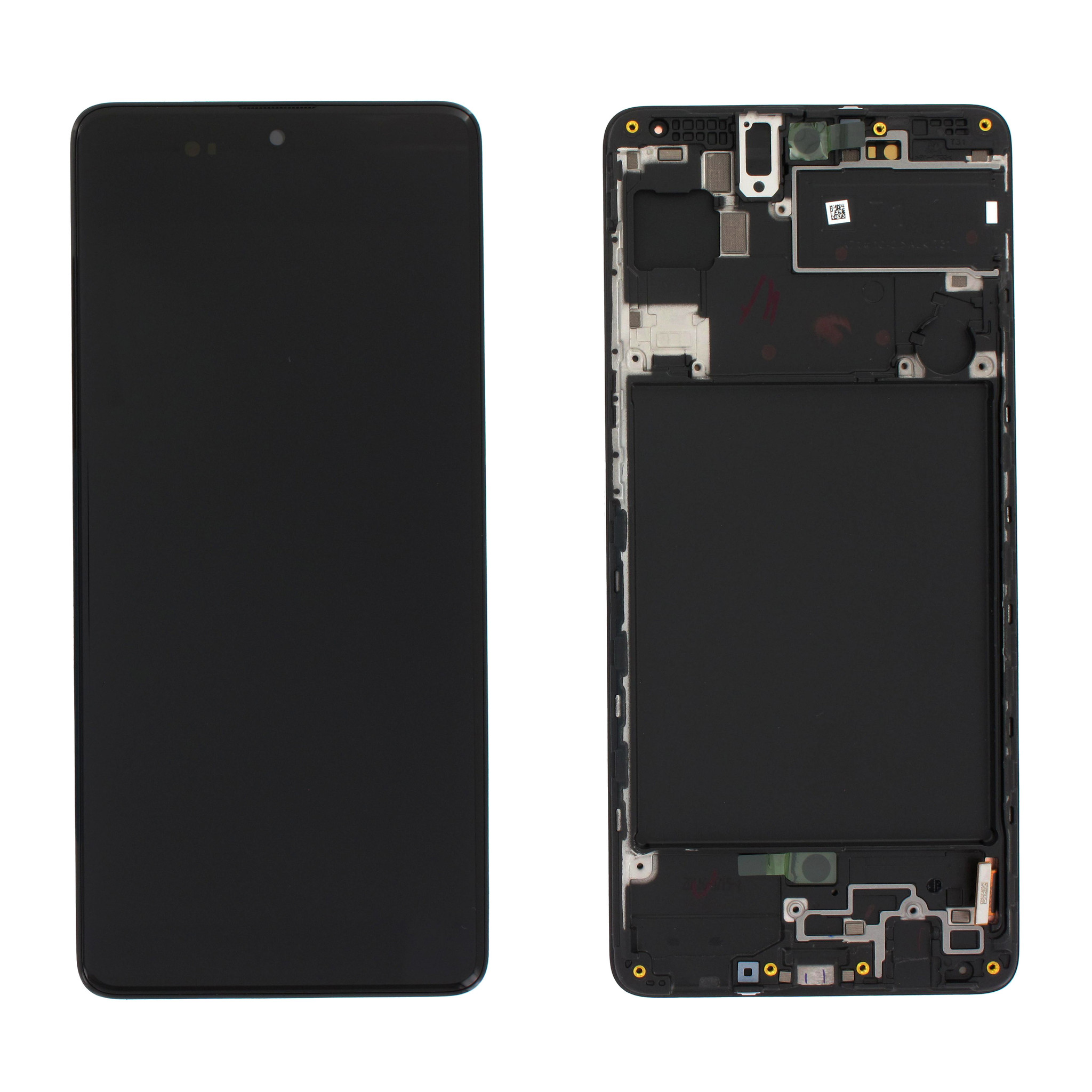 Samsung A715FN/DS Galaxy A71 Display, Schwarz, GH82-22152A;GH82-22248A