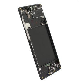 Samsung A715FN/DS Galaxy A71 Display, Zwart, GH82-22152A;GH82-22248A