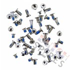 Screw, White, Complete set, Compatible With The Apple iPhone 6