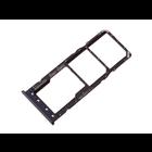 Samsung A105F/DS Galaxy A10 Sim + Memory Card Tray Holder, Black, GH98-44169A
