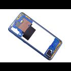 Samsung A705F/DS Galaxy A70 Middenbehuizing, Blauw, GH97-23258C;GH97-23445C