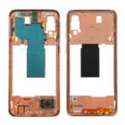 Samsung A405F/DS Galaxy A40 Middenbehuizing, Coral/Oranje, GH97-22974D