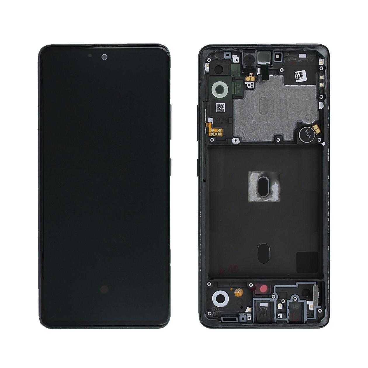 Samsung A516B A516B Galaxy A51 5G Display, Prism Crush Black/Schwarz, GH82-23100A;GH82-23124A