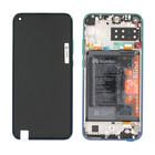Huawei ART-L29 P40 Lite E Display, Aurora Blue/Blauw, 02353FMX