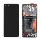 Huawei ELS-N29 P40 Pro Display, Schwarz, 02353PJG