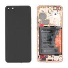 Huawei ELS-N29 P40 Pro Display, Blush Gold, 02353PJL