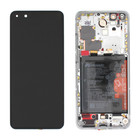 Huawei ELS-N29 P40 Pro Display, Ice White, 02353PJK