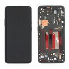 OnePlus 7T Pro (HD1913) LCD Display, Zwart, Incl. frame, OP7TPRO-LCD-IN-BL