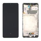 Samsung A426B Galaxy A42 5G Display, Zwart, GH82-24375A;GH82-24376A