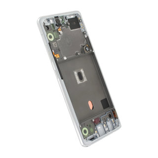 Samsung A516B Galaxy A51 5G Display, Prism Crush White, GH82-23100B;GH82-23124B