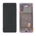 Samsung G781 Galaxy S20 FE 5G Display, Cloud Lavender/Paars, GH82-24214C;GH82-24215C