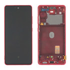 Samsung G781 Galaxy S20 FE 5G Display, Cloud Red, GH82-24214E;GH82-24215E
