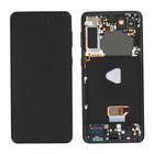 Samsung G996B Galaxy S21+ 5G Display, Phantom Black/Zwart, GH82-24553A;GH82-24554A