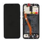 Huawei Mate 20 lite (SNE-LX1) Display, Black, Incl. Battery HB386589ECW, 02352DFF;02352DKK;02352GTW