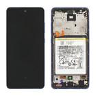 Samsung A526B Galaxy A52 5G Display + Batterie, Awesome Violet/Lila, GH82-25229C;GH82-25230C