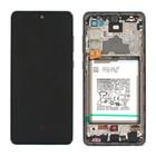 Samsung A725F Galaxy A72 4G Display + Batterij, Awesome Black/Zwart, GH82-25542A;GH82-25541A