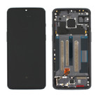 OnePlus 7 (GM1903) LCD Display, Schwarz, Incl. frame, OP7-LCD-IN-BL