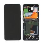 Samsung G988F/DS Galaxy S20 Ultra Display, Incl. Camera, Cosmic Black, GH82-22271A;GH82-22327A