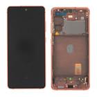 Samsung G780 Galaxy S20 FE 4G Display, Cloud Orange/Oranje, GH82-24219F;GH82-24220F